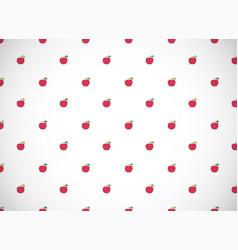 2018 apple seamless vector