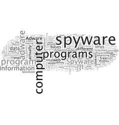adware spyware vector image