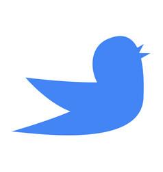 bird symbol of nature vector image