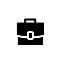 briefcase bag icon vector image