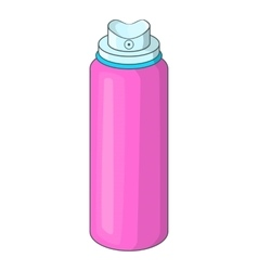 Deodorant icon cartoon style vector