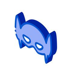 Emblem hero symbol isometric icon vector
