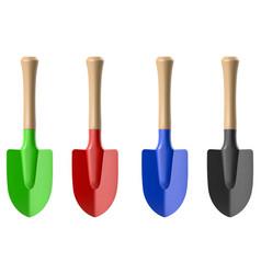 gardening shovel vector image