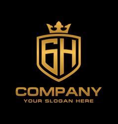 Gh logo vector