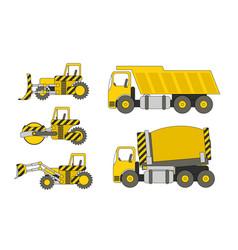 Heavy machinery vector