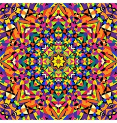Seamless kaleidoscope pattern vector