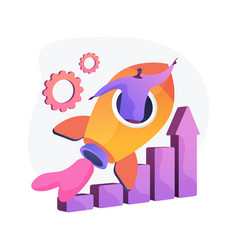 Success achievement concept metaphor vector