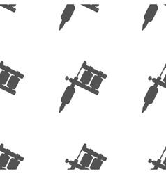 Tattoo Machine Pattern vector image