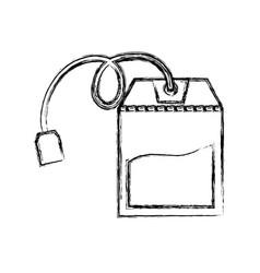 tea bag isolated vector image