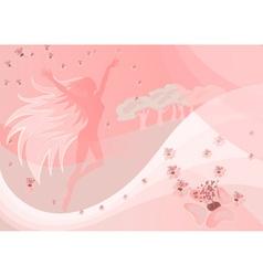 Whimsical Fairy Backdrop vector