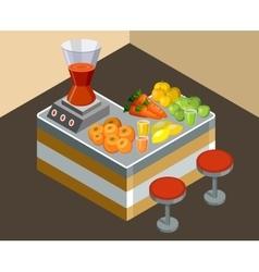 Bar juice vector