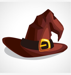 a witch s hat vector image
