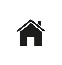home of icon vector image