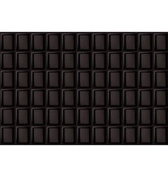 Background of dark chocolate bar vector