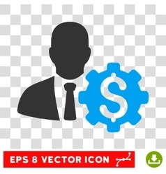 Banker options eps icon vector