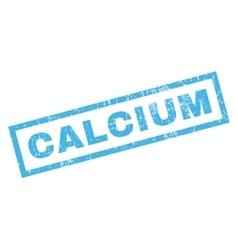 Calcium Rubber Stamp vector