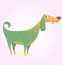 colorful doggy icon image vector image