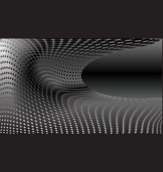 futuristic background in the form of a curved vector image