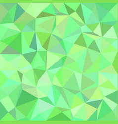 Green triangle tiled background vector
