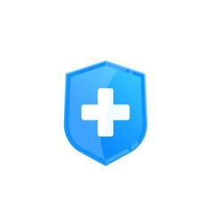 Health insurance logo vector