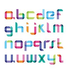 New color font vector