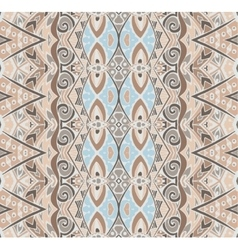 Seamless pattern ethnic tribal vector