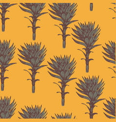 seamless pattern for printing textiles vector image