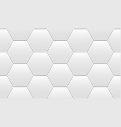 seamless tiles from hexagons vector image