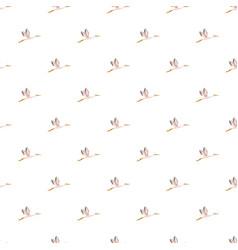 stork pattern seamless vector image