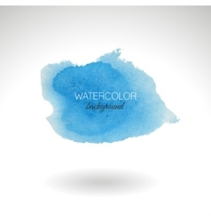 Watercolor strokes and texture design vector