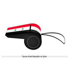 A Whistle of The Syrian Arab Republic vector