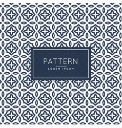 Abstract pattern decoration backround design vector