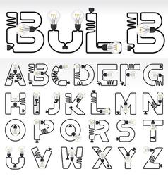 alphabet set 02 vector image