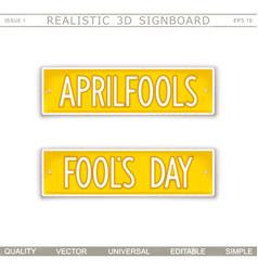 Aprilfools fools day vector