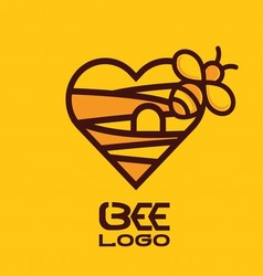 BEE LOGO 8 vector