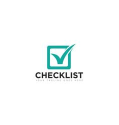 Check logo and icon vector