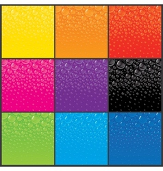 Color Bubbles Backgrounds vector image