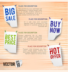 discount poster vector image