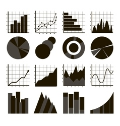 Business Infographic icons vector image vector image