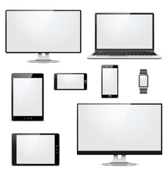 Modern Electronic Devices vector image vector image