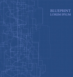 Abstract Blueprint Background For Business vector