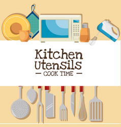 cooking time concept vector image