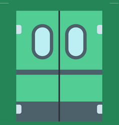 Door elevator entrance doorway vector