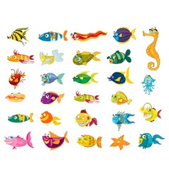 Fishy vector