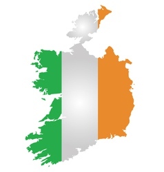 Ireland Flag vector image