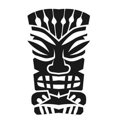 Mystery aztec idol icon simple style vector