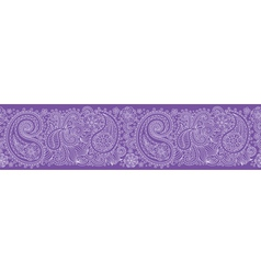 Sampless pattern violet vector image