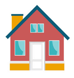 small house cartoon vector image