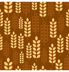 wheat seamless3 vector image