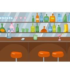 Bar cartoon vector